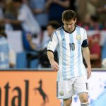 Messi calls off from International soccer; Maradona urges to play until 2018 World Cup